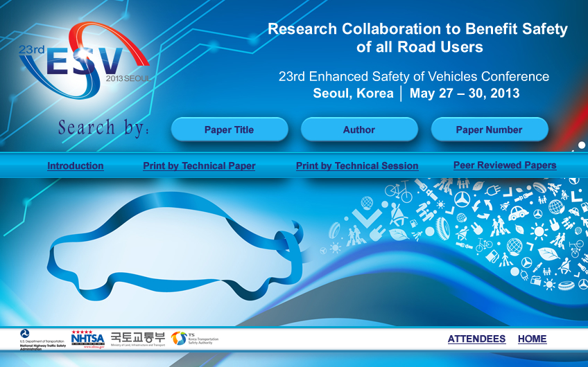 23rd International Technical Conference on the Enhanced Safety of Vehicles (ESV)